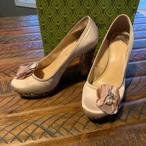 Gianni Bini Used Satin Shoes